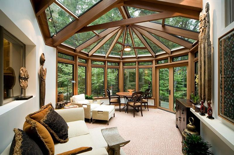 20 Amazing Sunroom Designs-20