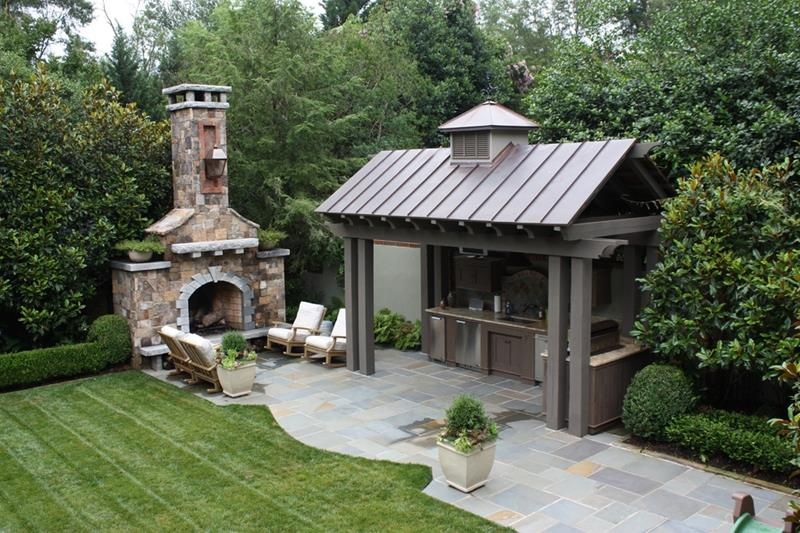 20 Gorgeous Backyard Patio Designs and Ideas-3