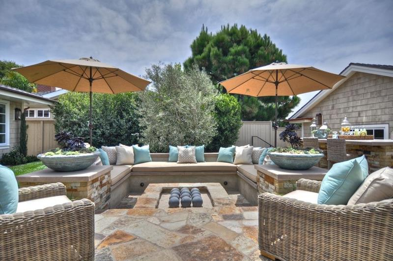 20 Gorgeous Backyard Patio Designs and Ideas-6