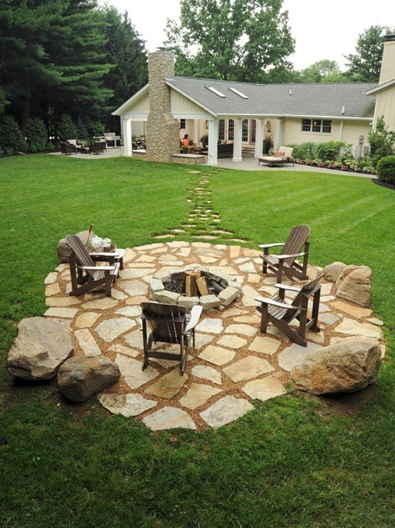 20 Gorgeous Backyard Patio Designs and Ideas-8