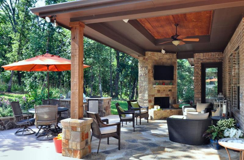 20 Gorgeous Backyard Patio Designs and Ideas-9