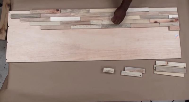 How to Make DIY Wood Pallet Backsplash-10