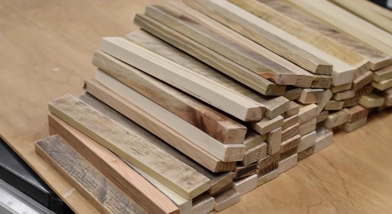 How to Make DIY Wood Pallet Backsplash-8