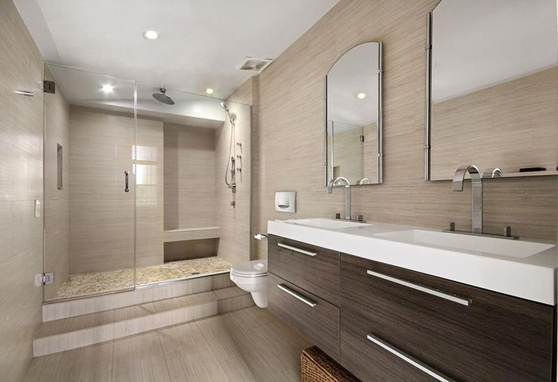 15 Stunning Master Bathrooms With Walk In Showers